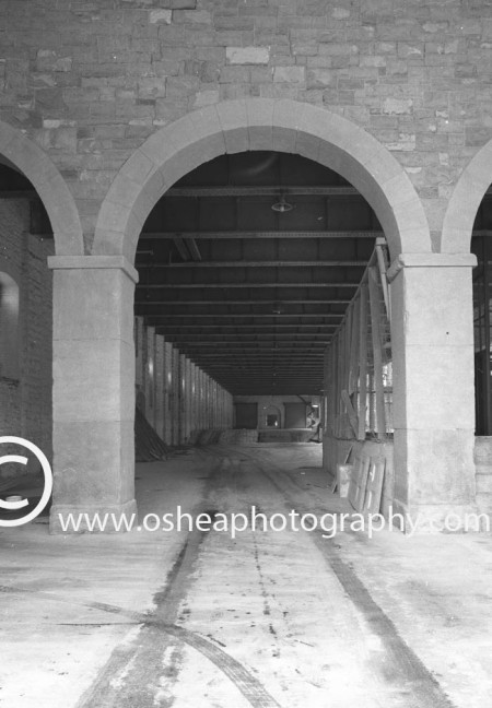 Development of the Point Theatre Dublin  1988 -David O'shea Architectural Photographer Dublin Ireland