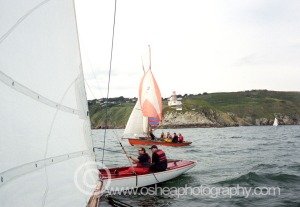 No1 Rita and No3 Leila Photographed sailing past  the Baily Lighthouse Howth Summit © David O'Shea Editorial Photographer Dublin www.osheaphotography.com