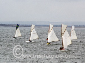 Some of the Fleet Sailing down the Sound 2007 © David O'Shea Editorial Photographer Dublin www.osheaphotography.com