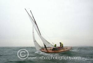 A family Affair ! Father and Son sailing No7 Aura © David O'Shea Editorial Photographer Dublin www.osheaphotography.com