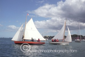 No3 Leila and No7 Aura Sailing in Dublin Port  © David O'Shea Editorial Photographer Dublin www.osheaphotography.com